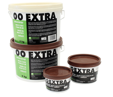 00 Extra linseed oil based putty