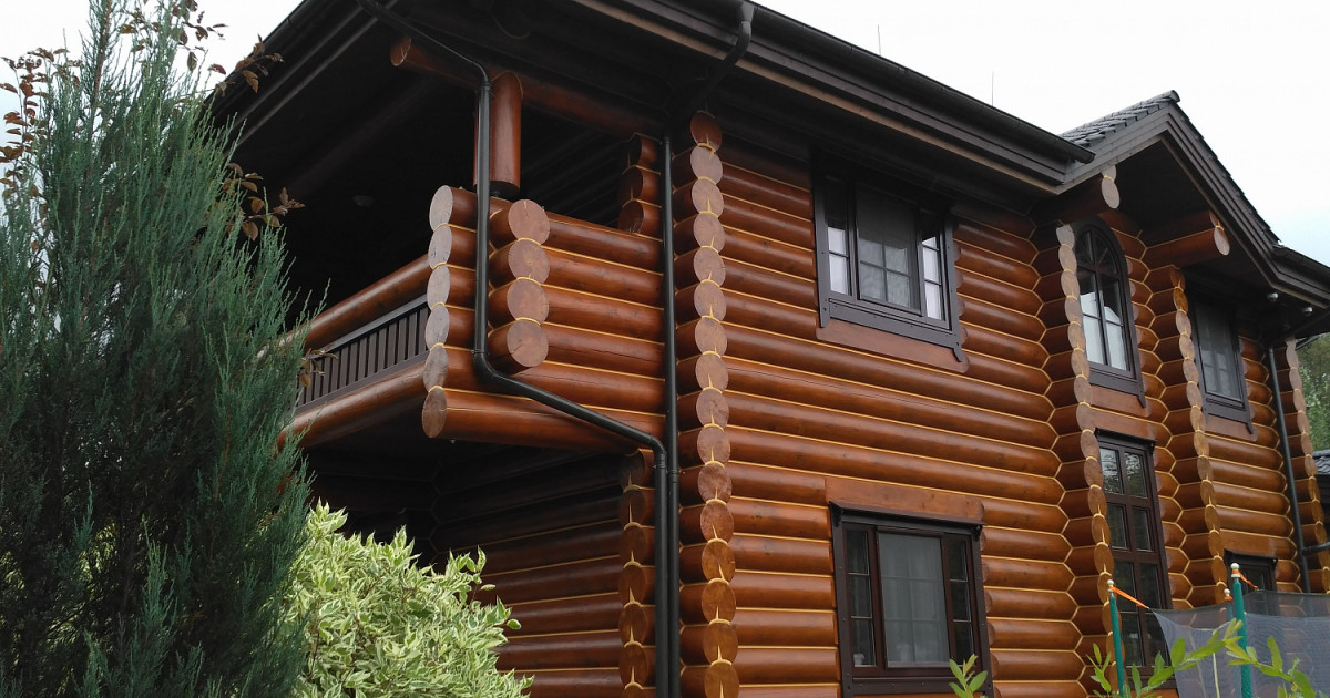 Russia - wooden houses