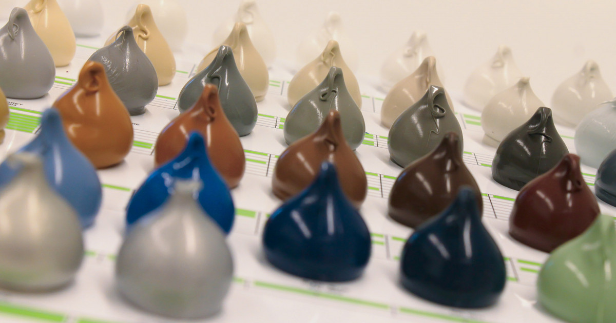 Changes to the silicones colour palette
