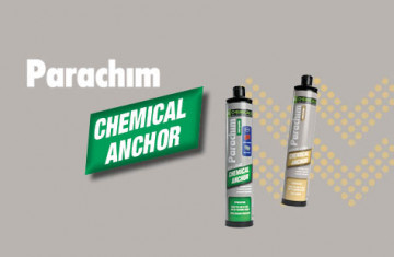Chemical anchor Parachim: faster and stronger than ever!